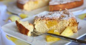 Rezept Ananas-Kokos-Kuchen mit Buttermilch low carb glutenfrei kalorienarm