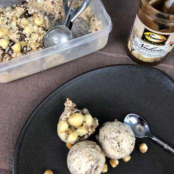 Rezept NUKETO Eis lowcarb zuckerfrei keto