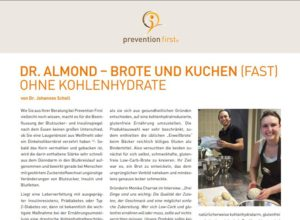 Dr. Almond auf prevention first