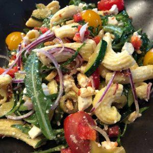 Rezept Sommerlicher Nudelsalat low carb glutenfrei