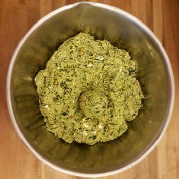 Rezept Spinat Feta Knödel lowcarb glutenfrei