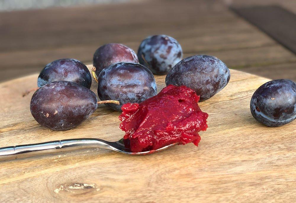 Rezept Pflaumencreme für Torten, Desserts, Eis lowcarb glutenfrei