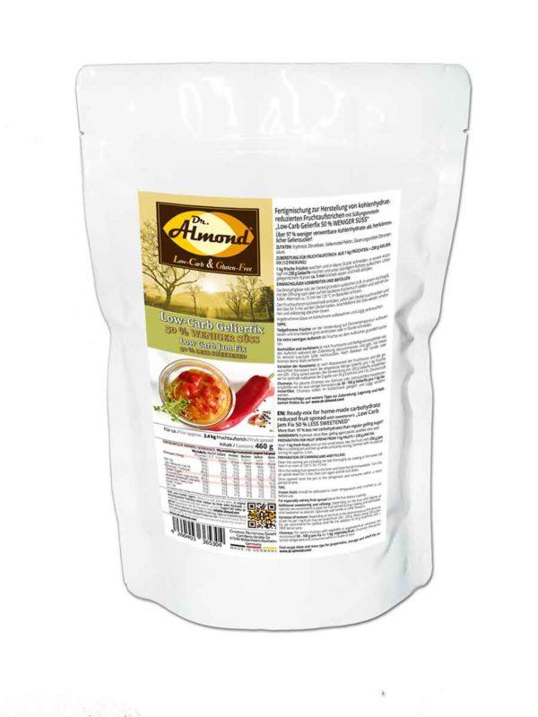 Low-Carb Gelierfix 50 % WENIGER SÜSS - Gelierzucker-Ersatz mit Erythrit für selbstgemachte Fruchtaufstriche ohne Zuckerzusatz