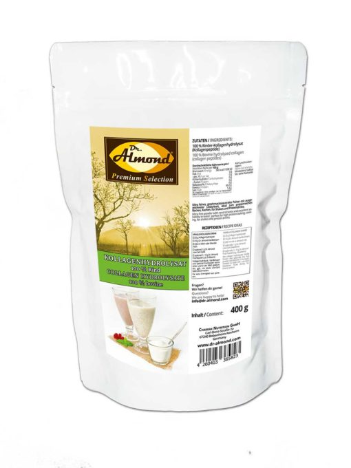 KOLLAGENHYDROLYSAT 100 % Rinderkollagen Kollagenpeptide - geschmacksneutral | beste Löslichkeit | ideal für Shakes