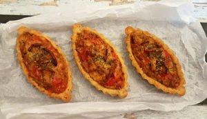 Rezept Tomaten Pfifferling Eierschwammerl Canapé lowcarb glutenfrei keto kalorienarm