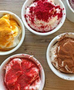 FLUFFZAUBER Fertigmischung für kalorienarmen Eiweiss-Fluff & low carb Baiser
