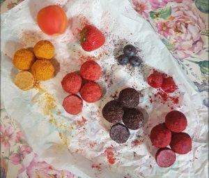 Rezept Fruchtpralinen 4 Sorten lowcarb keto
