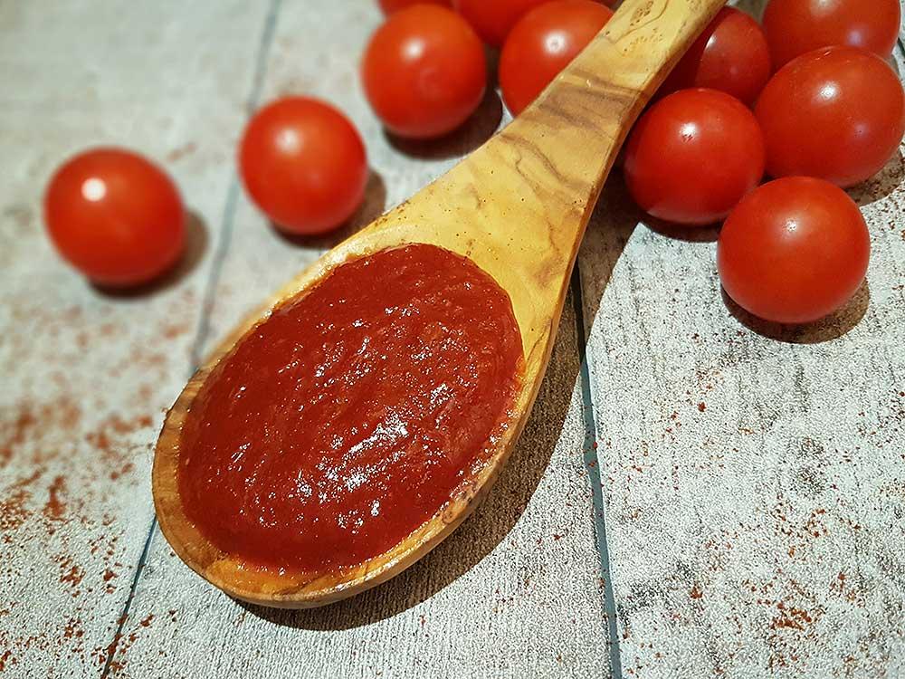 Rezept Ketchup lowcarb zuckerfrei ohne Zucker kalorienarm