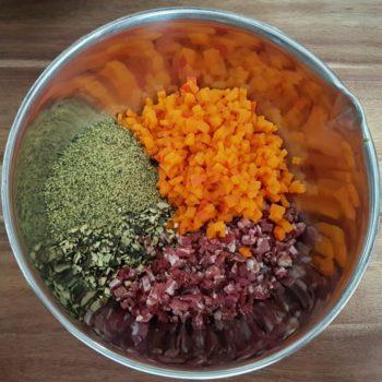 Rezept Kürbis Speck Feta Brot lowcarb keto glutenfrei kalorienarm
