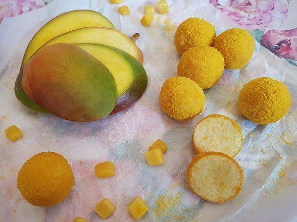 Fruchtpralinen Mango lowcarb