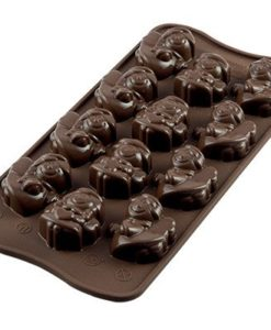 250-00_Silikomart SCG27 CHOCO ANGELS Silikonform Pralinenform low carb Schokolade