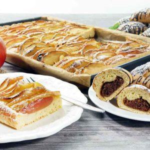 MANDELTEIG Classic Backmischung für Kuchen, Kuchenböden, süße Brote und Brötchen low carb glutenfrei sojafrei keto
