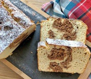 Rezept Nuketo-Haselnuss-Swirl-Kuchen lowcarb glutenfrei kalorienarm
