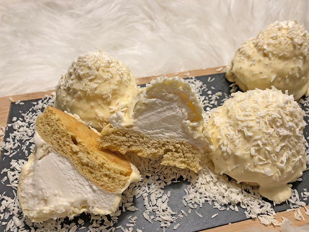 Rezept Kokos-Fluff-Eisberge lowcarb glutenfrei keto
