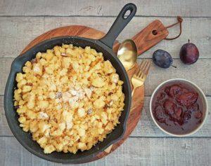 Rezept Mandel Kokos Nuketo Kaiserschmarrn lowcarb glutenfrei