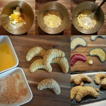 Rezept Orangenkipferl Orangenhörnchen lowcarb glutenfrei