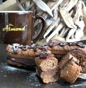 Rezept Spekulatiusbiskuits mit Weihnachtsganache lowcarb keto glutenfrei