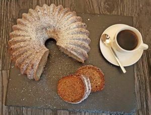 Rezept Kürbiskern Zimt Moccakuchen lowcarb glutenfrei