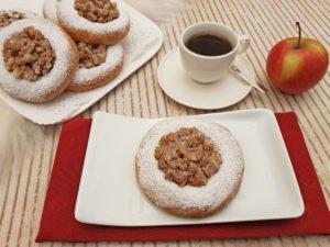 Rezept Apfelkränze lowcarb glutenfrei