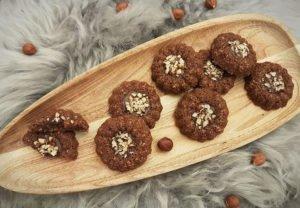 Rezept Haselnuss Nuketo Cookies lowcarb glutenfrei keto
