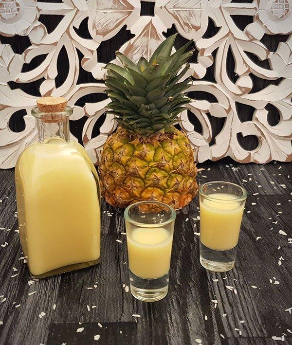 Ananas Sahne Kokos Likör