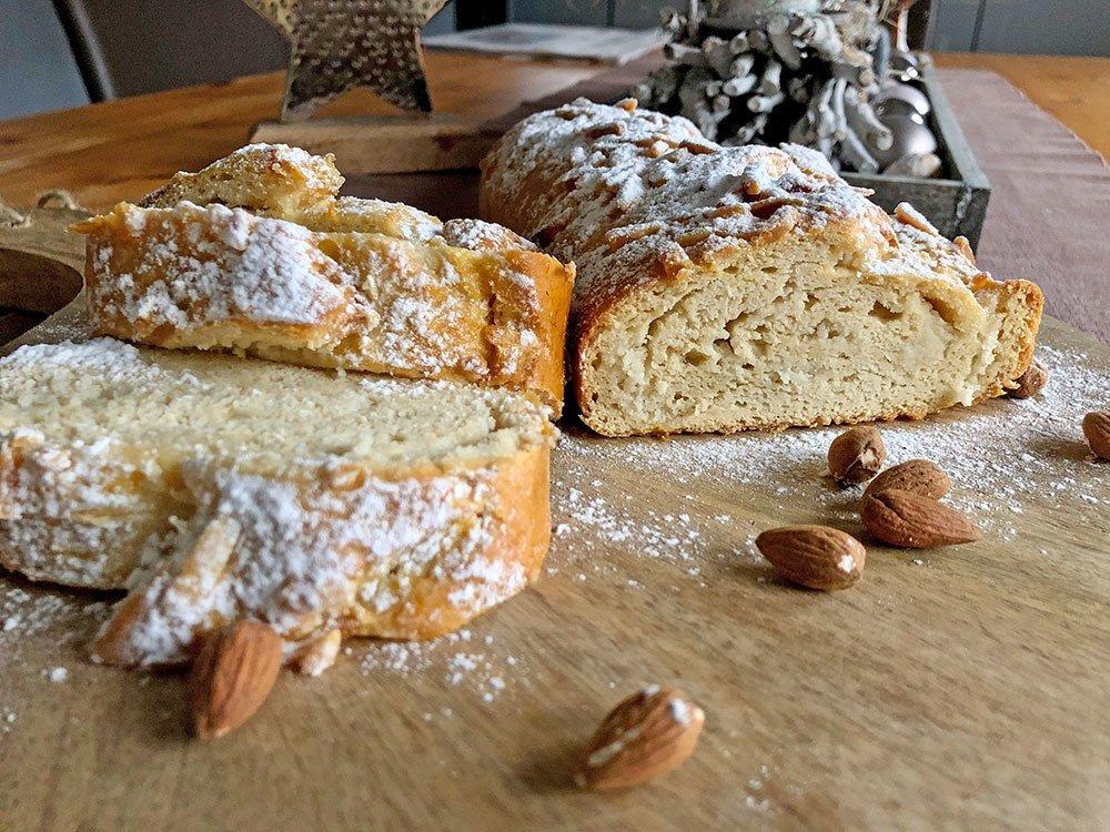 Rezept Marzipanstriezel low carb glutenfrei keto