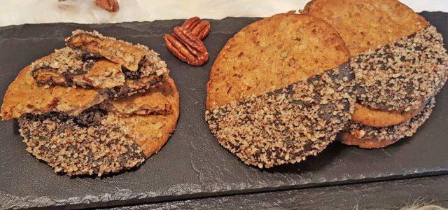 Rezept Pekannuss Vanille Cookies lowcarb keto glutenfrei