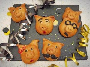 Rezept Gefüllte Glücksschweinchen lowcarb keto