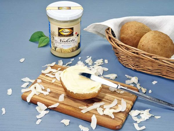 Nuketo KOKOSNUSS Gourmet Nougat-Creme low carb keto   ohne Zuckerzusatz   ohne Palmöl