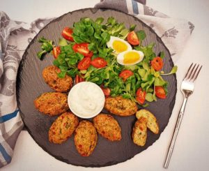 Rezept Broccoli Nuggets lowcarb kalorienarm glutenfrei