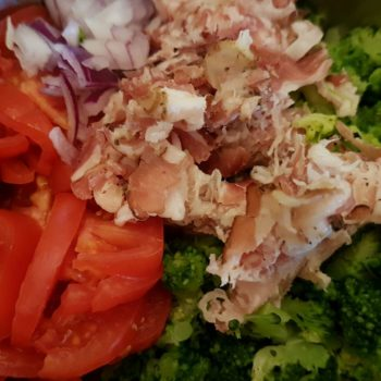 Rezept Broccoli-Speck-Raclette Waffeln lowcarb glutenfrei keto