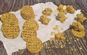 Rezept Kürbiskern Cheesy Cracker lowcarb glutenfrei keto