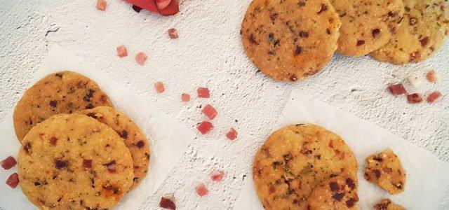 Rezept Speck Käse Cracker lowcarb glutenfrei keto