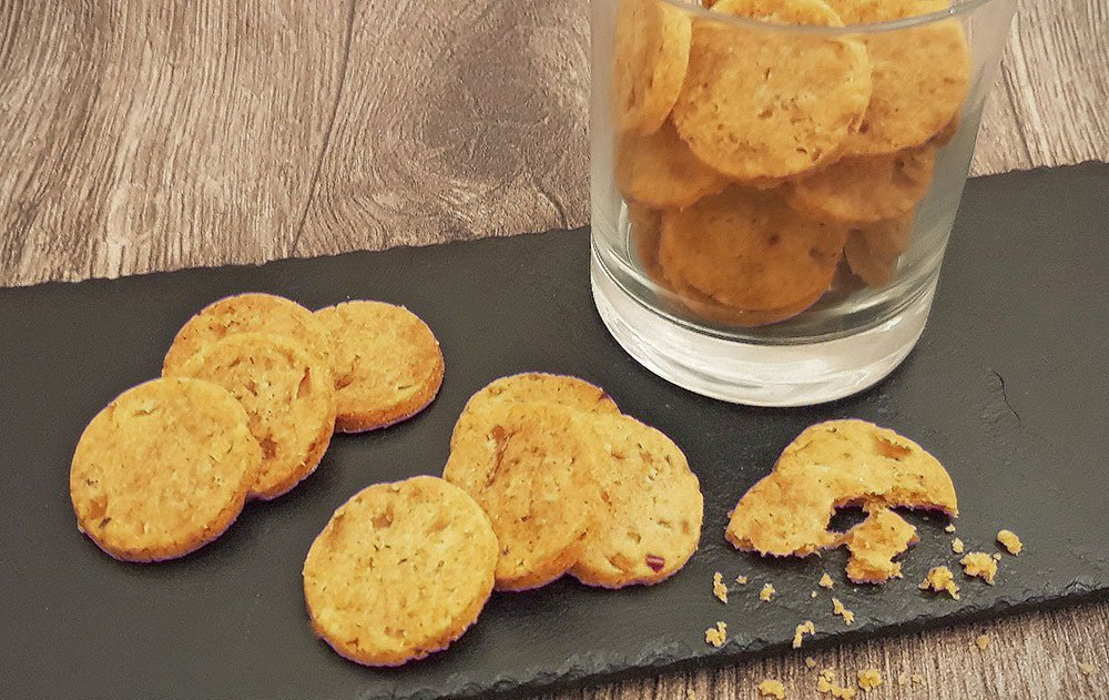 Rezept Parmesan Zwiebel Cracker lowcarb glutenfrei keto