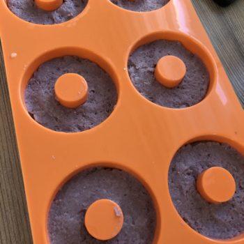 Rezept Himbeer Donuts lowcarb glutenfrei keto