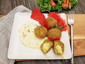 Rezept Broccoli Mozarella Miniknödel lowcarb glutenfrei
