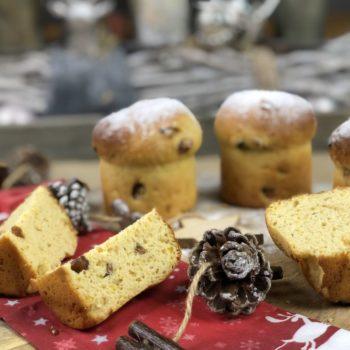 Rezept Mini-Panettone lowcarb glutenfrei