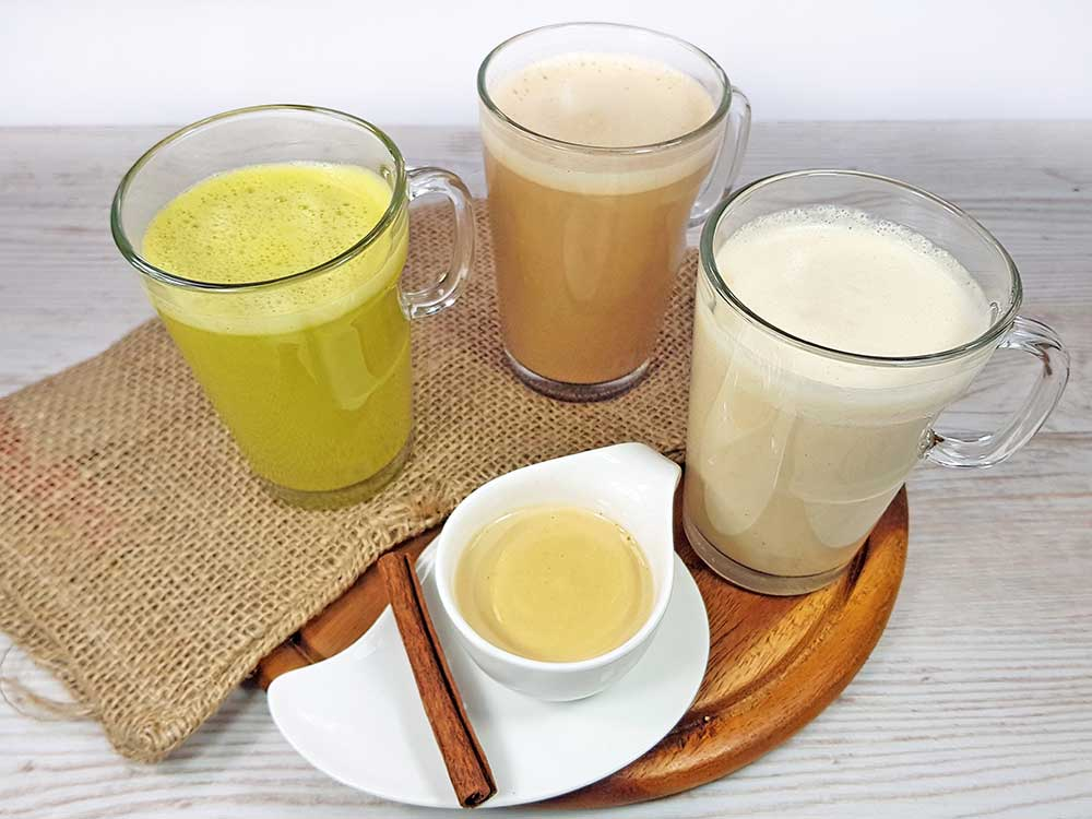 Rezept Nussmilch selbermachen in 2 Minuten lowcarb keto