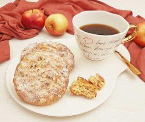 Rezept Apfel-Zimt Brandteigteilchen lowcarb glutenfrei kalorienarm