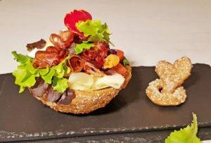 Rezept Salatschüsseln aus Brandteig lowcarb glutenfrei