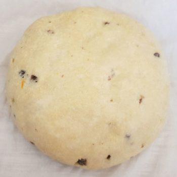 Rezept Osterbrot lowcarb glutenfrei keto mit Rumrosinen