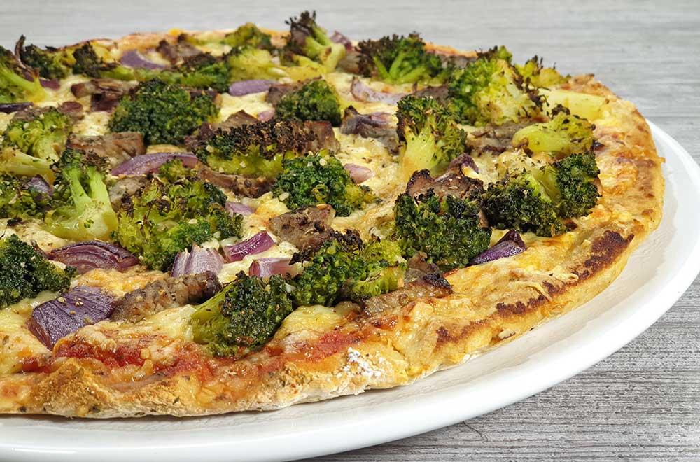 Rezept Steak Pizza low carb glutenfrei keto