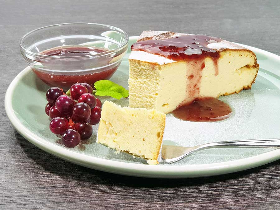 Protein-Kaesekuchen-mit-Kollagen-low-carb-zuckerfrei-glutenfrei-Rezept