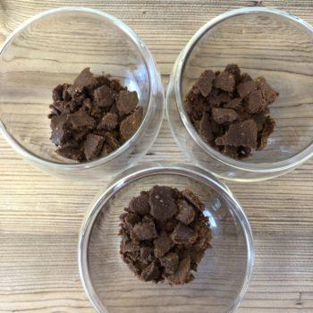 """Rezept Dessert a la """"Schwarzwälder Kirsch"""" im Glas lowcarb glutenfrei"""