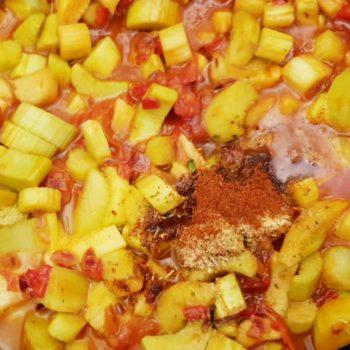 Rezept Rhababerketchup selber machen lowcarb glutenfrei