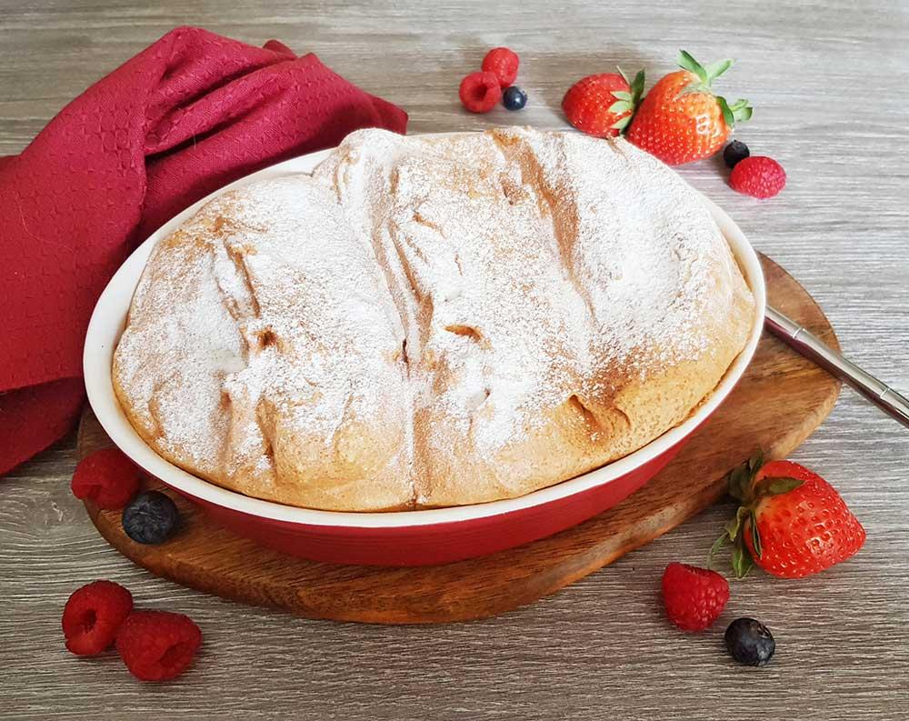 Rezept Salzburger Nockerl lowcarb glutenfrei