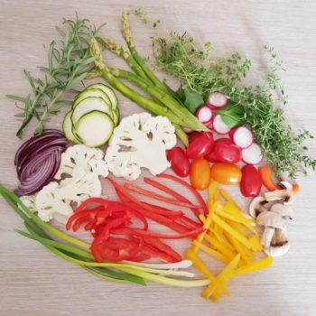 Rezept Gemüse Foccacia zum Grillen lowcarb glutenfrei keto