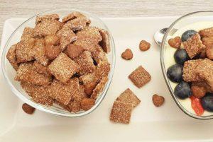 Rezept Zimt Knusperkissen lowcarb glutenfrei keto