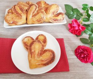 Rezept Frischkäse Schinken Hefeherzen lowcarb glutenfrei keto