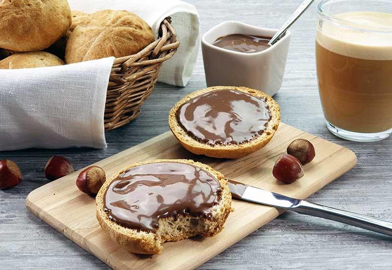 Nuketo SCHOKO-HASELNUSS Gourmet Nougat-Creme low carb keto | ohne Zuckerzusatz | ohne Palmöl
